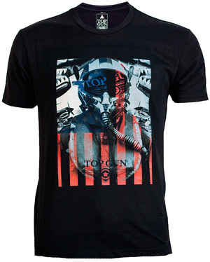 Футболка Top Gun 'Fighter' Tee (чорна)