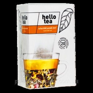 Чай Hello tea Alpine meadow 20шт Альпийский луг